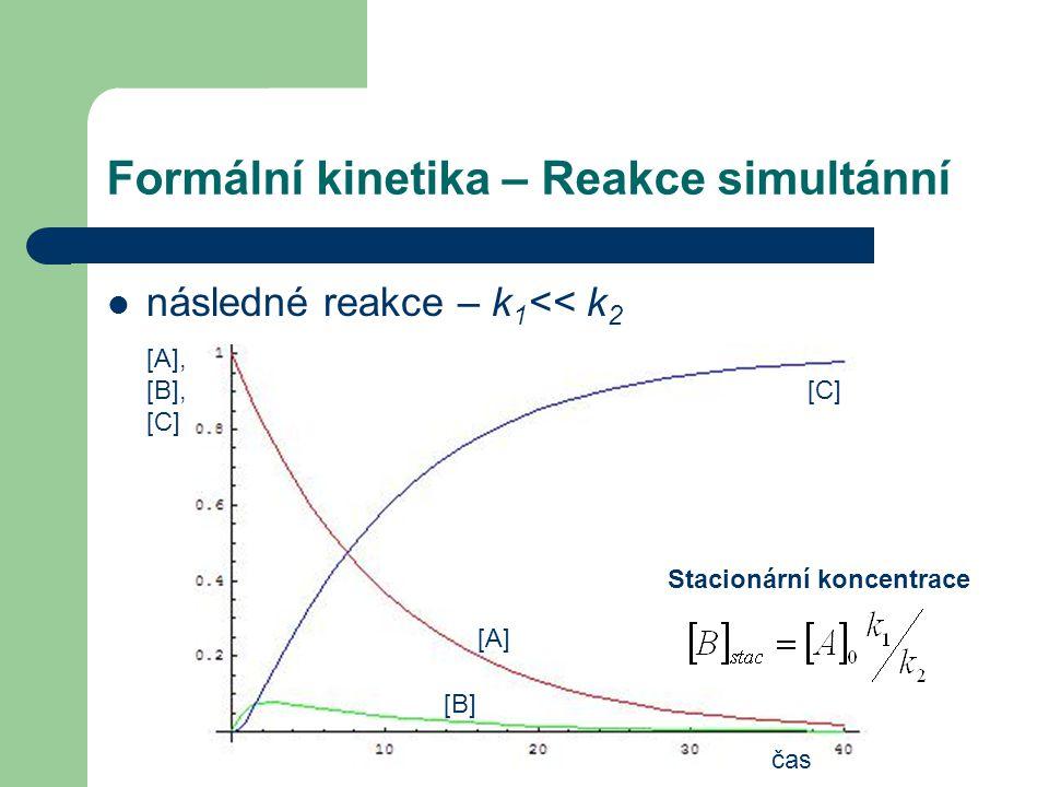 Formální kinetika – Reakce simultánní