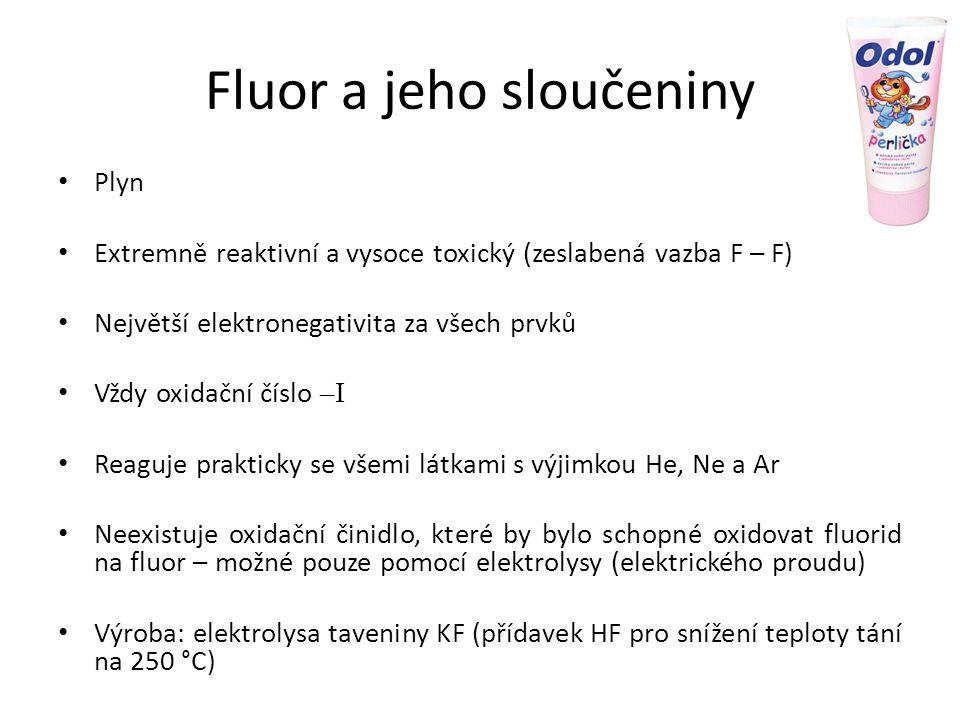 Fluor a jeho sloučeniny