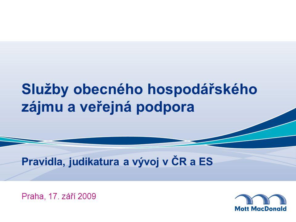 Pravidla, judikatura a vývoj v ČR a ES