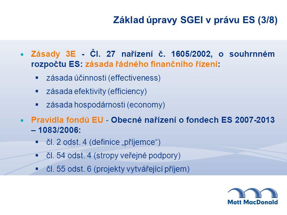 Základ úpravy SGEI v právu ES (3/8)