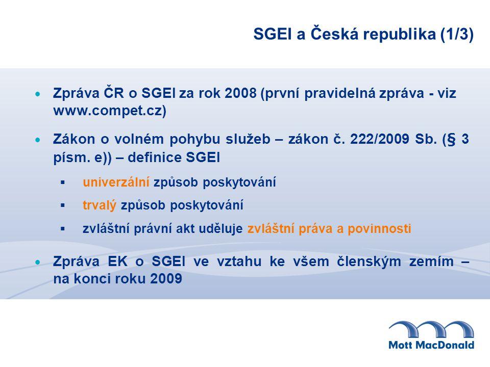 SGEI a Česká republika (1/3)