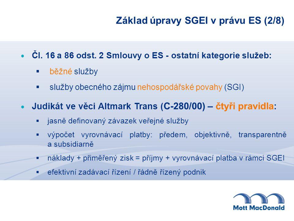 Základ úpravy SGEI v právu ES (2/8)