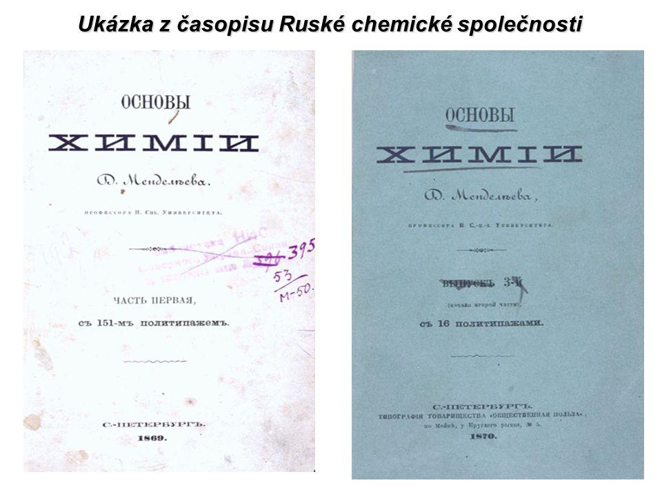 Ukázka z časopisu Ruské chemické společnosti