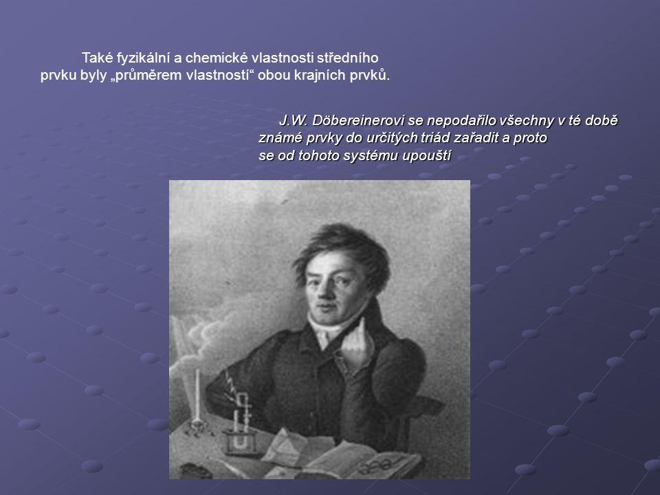 Také fyzikální a chemické vlastnosti středního