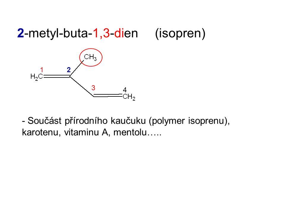 2-metyl-buta-1,3-dien (isopren)