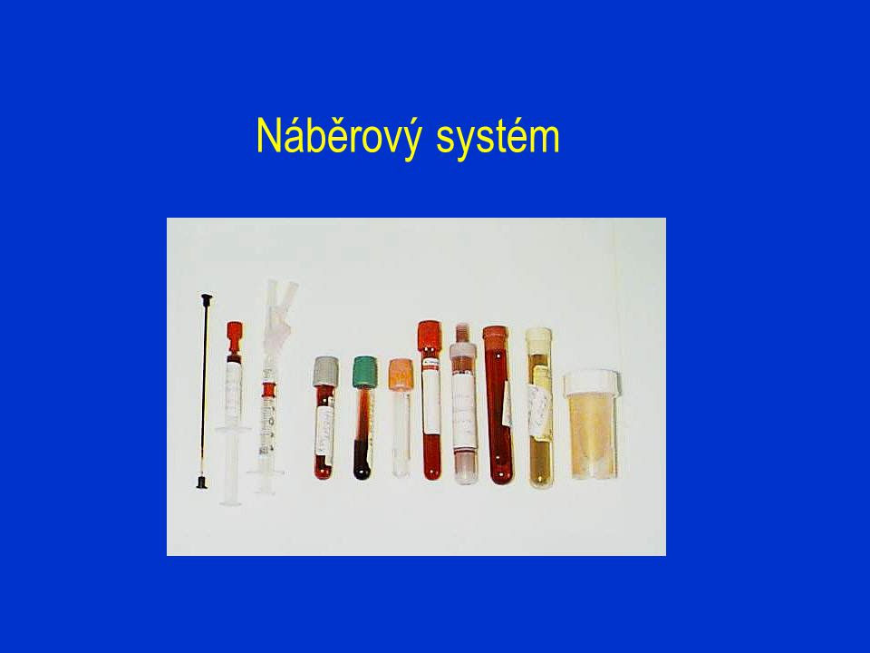 Náběrový systém