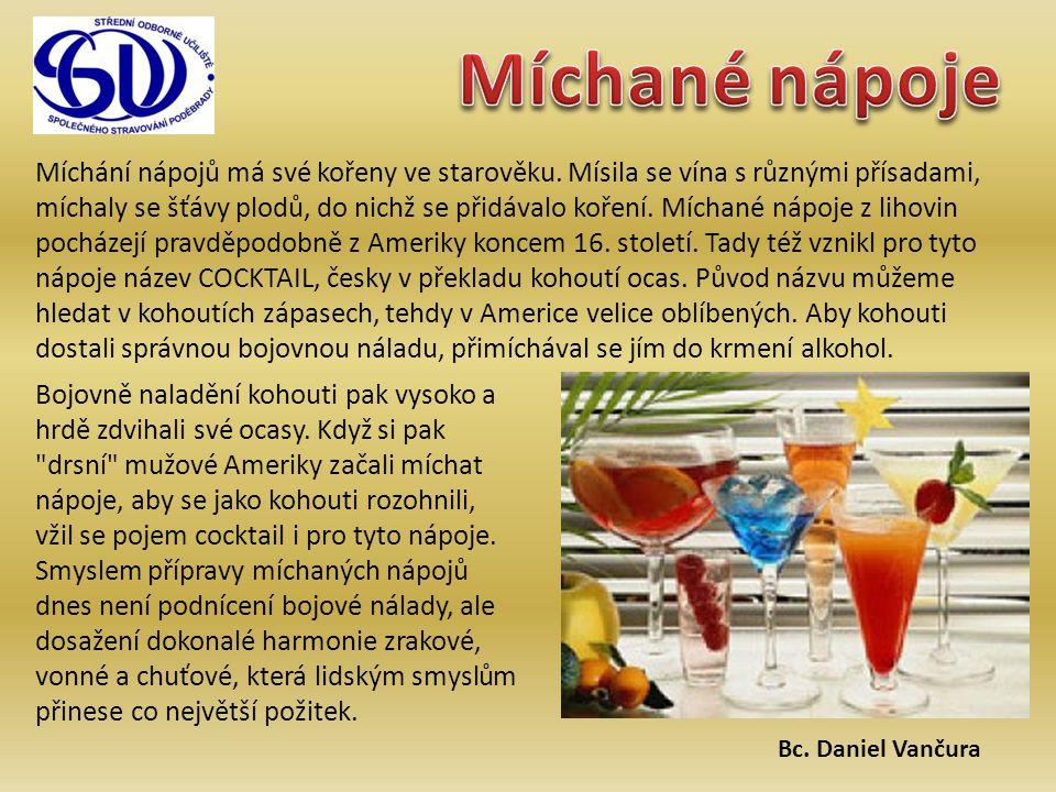 Míchané nápoje