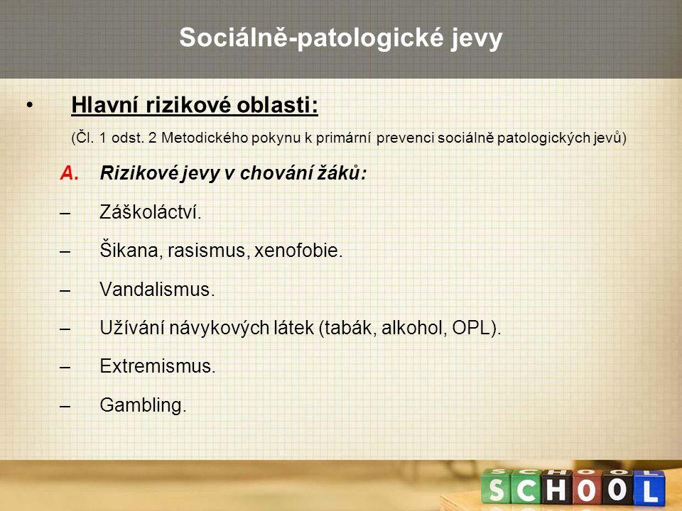 Sociálně-patologické jevy