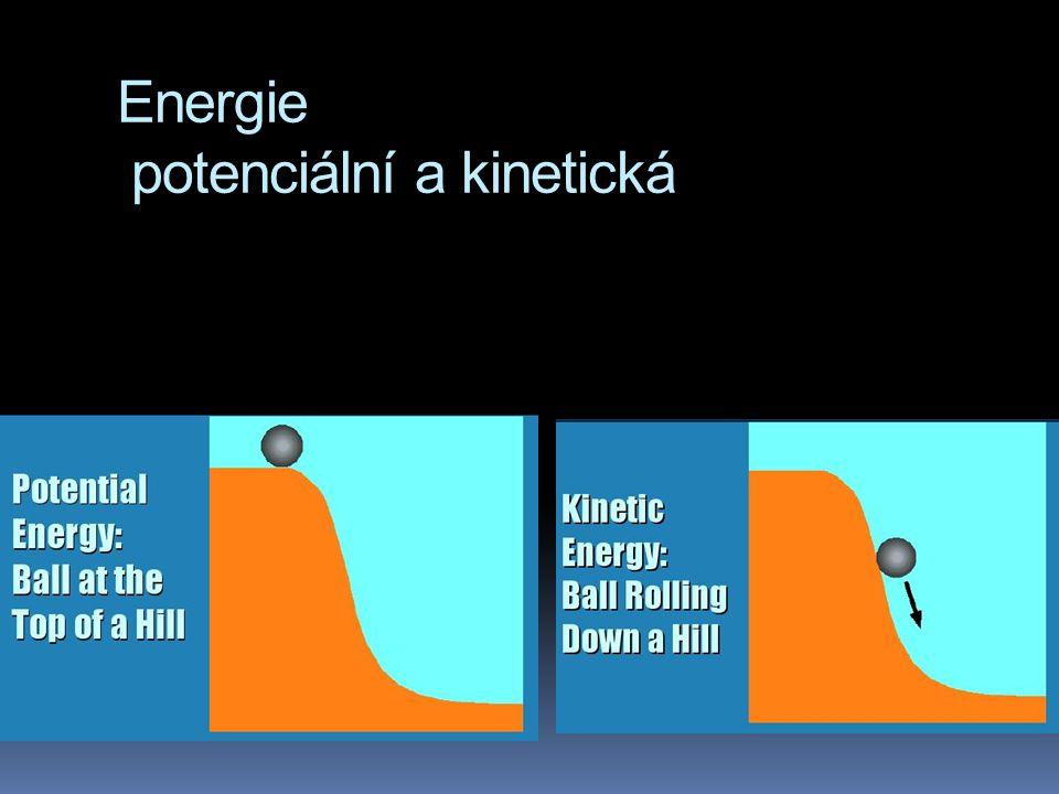 Energie potenciální a kinetická