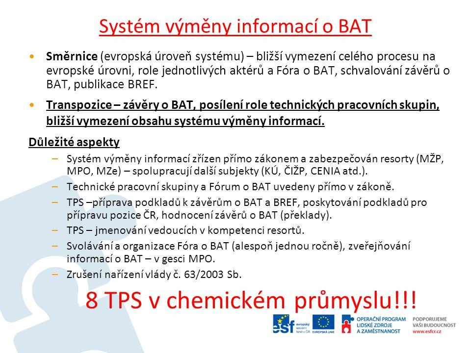Systém výměny informací o BAT