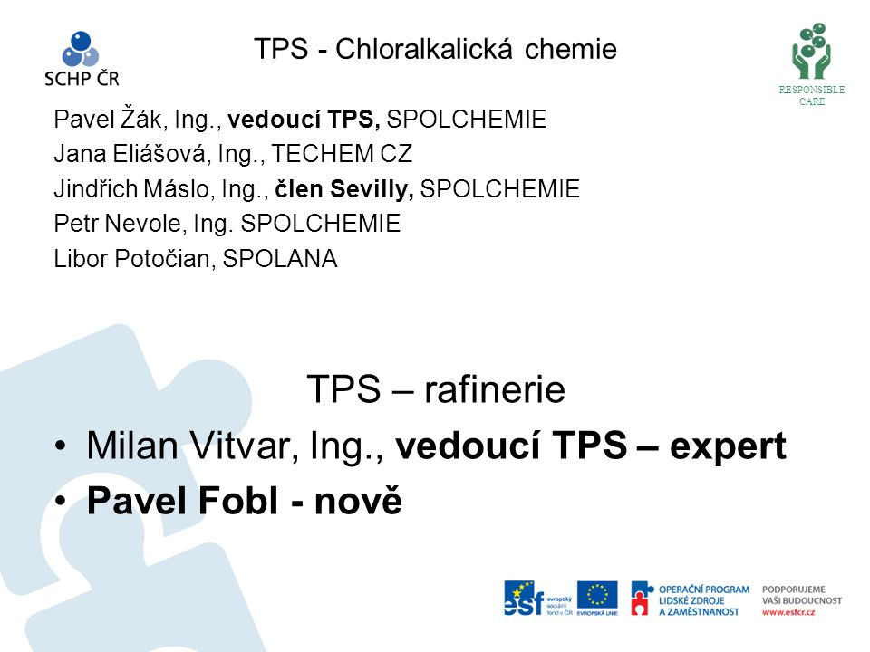 TPS - Chloralkalická chemie