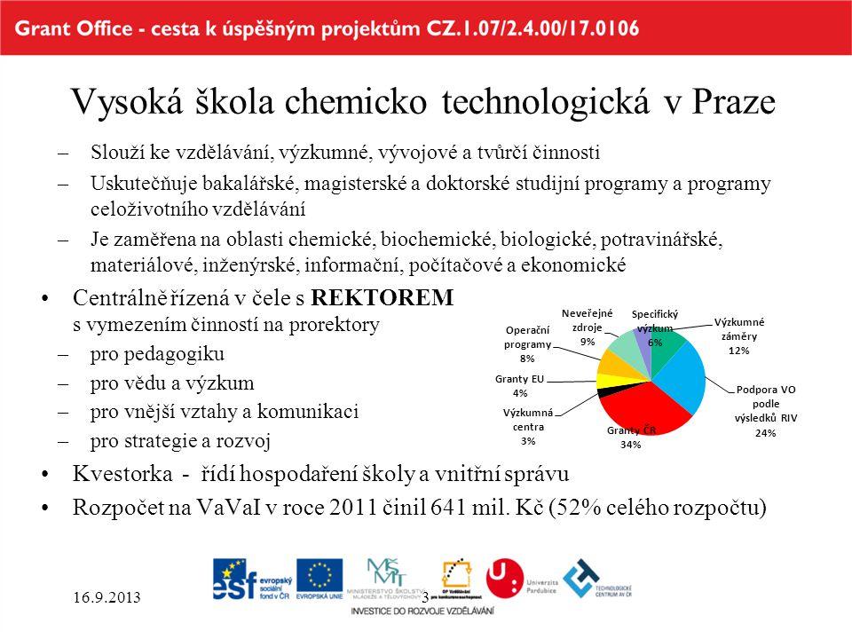 Vysoká škola chemicko technologická v Praze