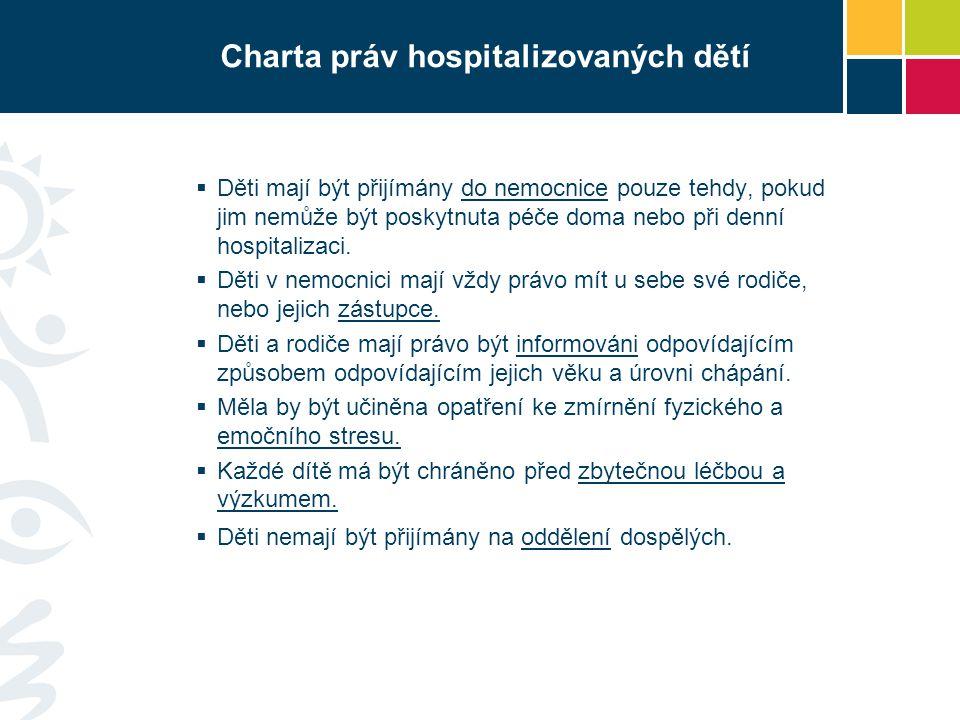 Charta práv hospitalizovaných dětí