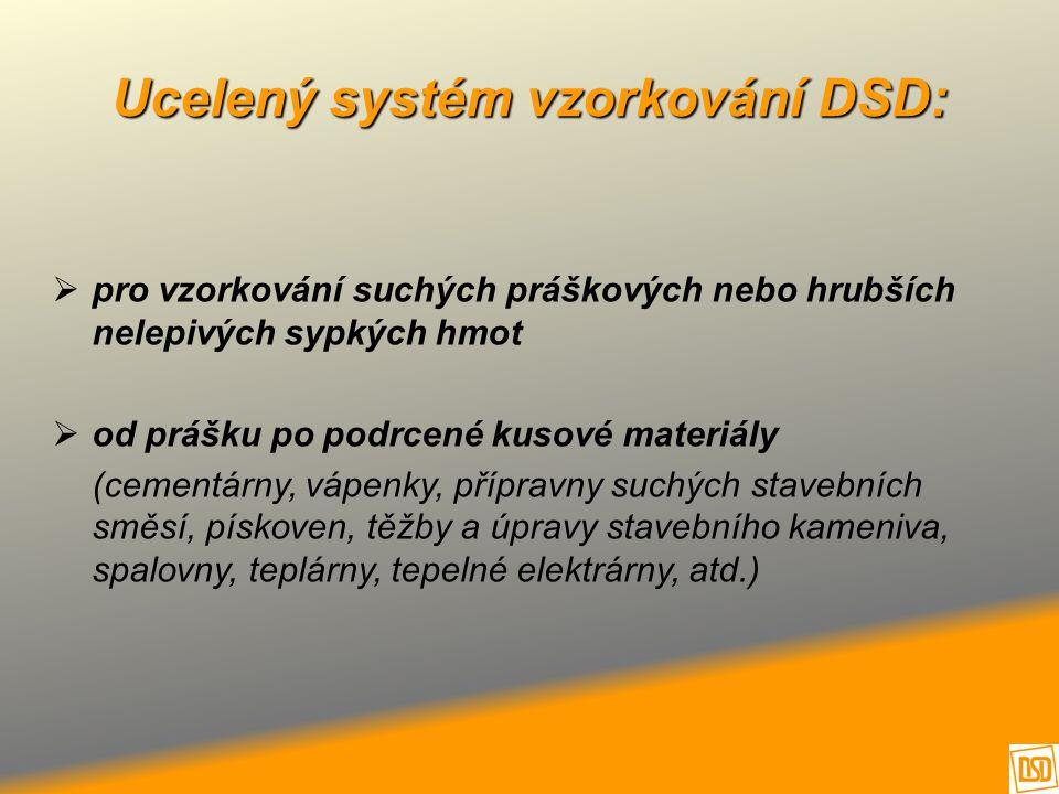 Ucelený systém vzorkování DSD:
