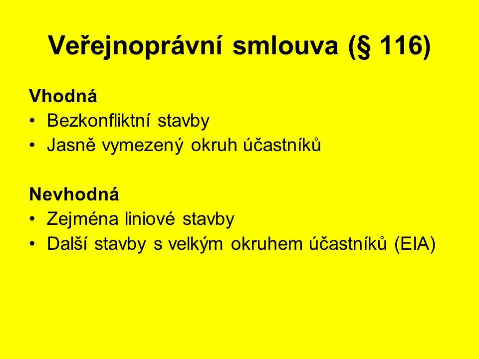 Veřejnoprávní smlouva (§ 116)