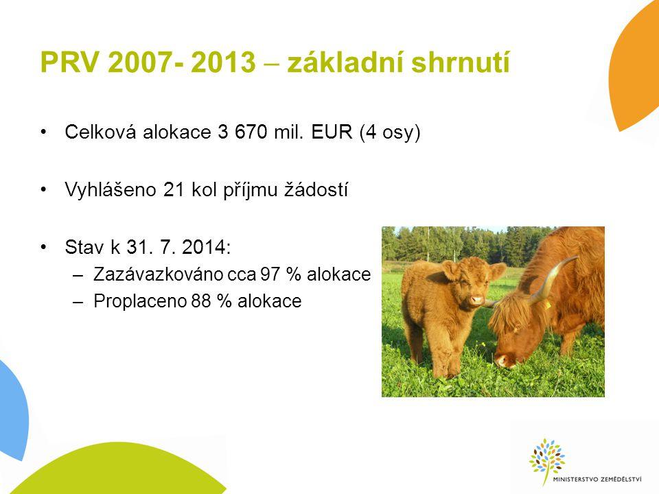 PRV 2007- 2013  základní shrnutí