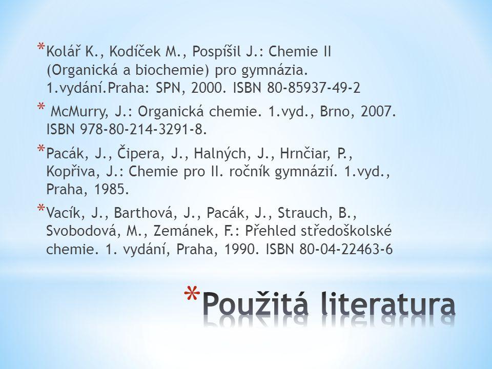Kolář K. , Kodíček M. , Pospíšil J