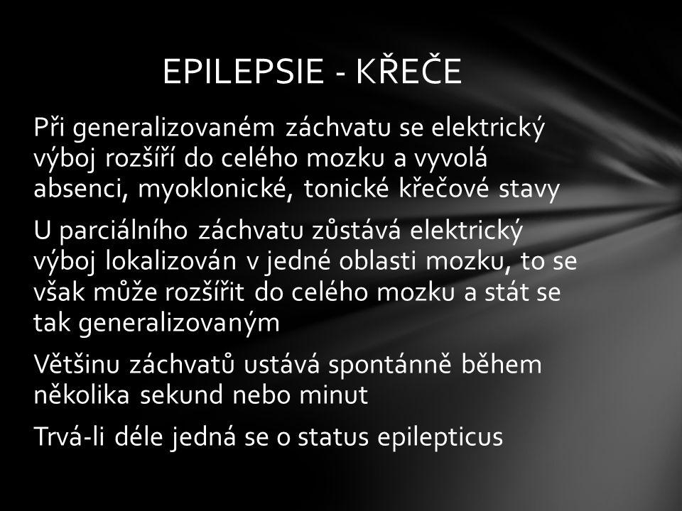 EPILEPSIE - KŘEČE