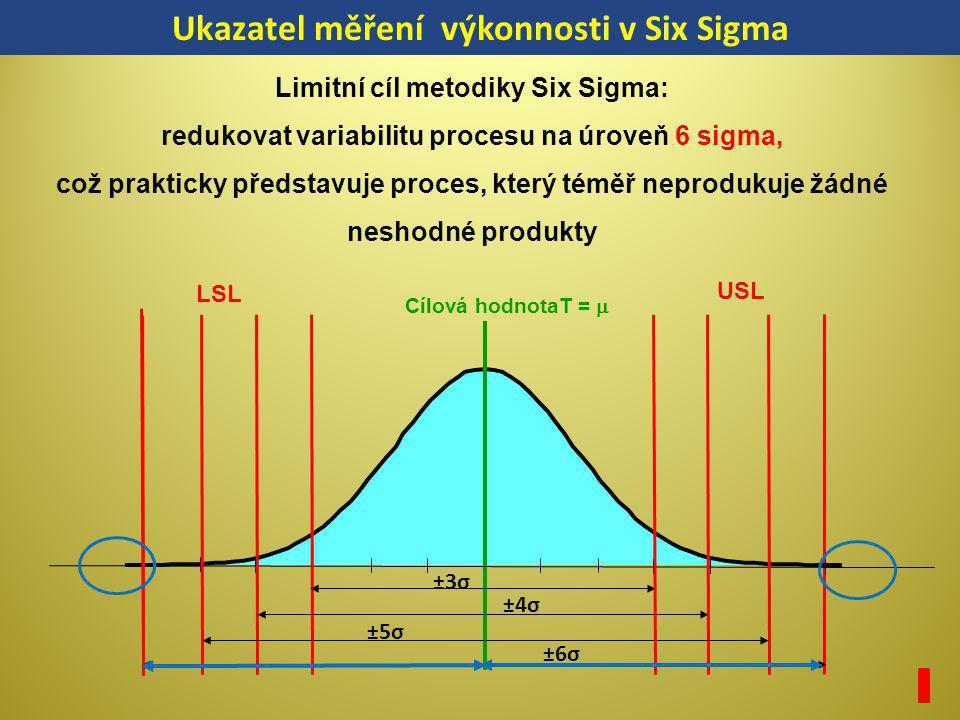 Ukazatel měření výkonnosti v Six Sigma