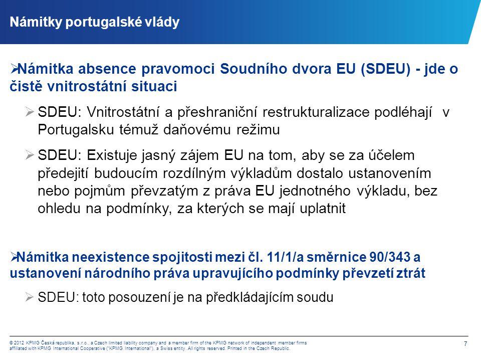 SDEU:výklad čl. 11/1/a směrnice 90/343