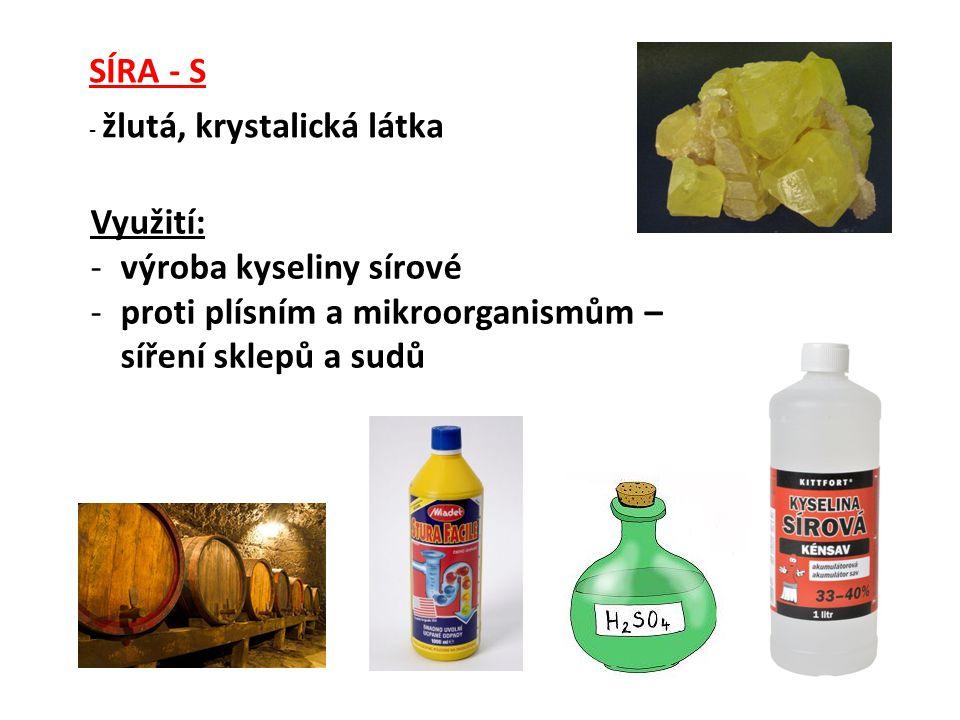 výroba kyseliny sírové