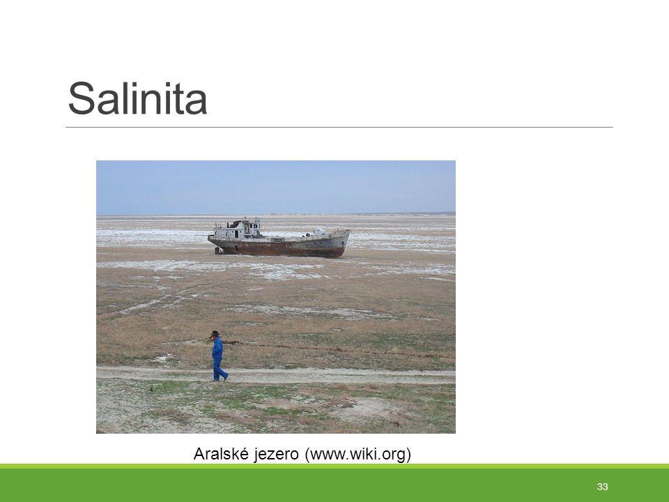 Salinita Aralské jezero (www.wiki.org)