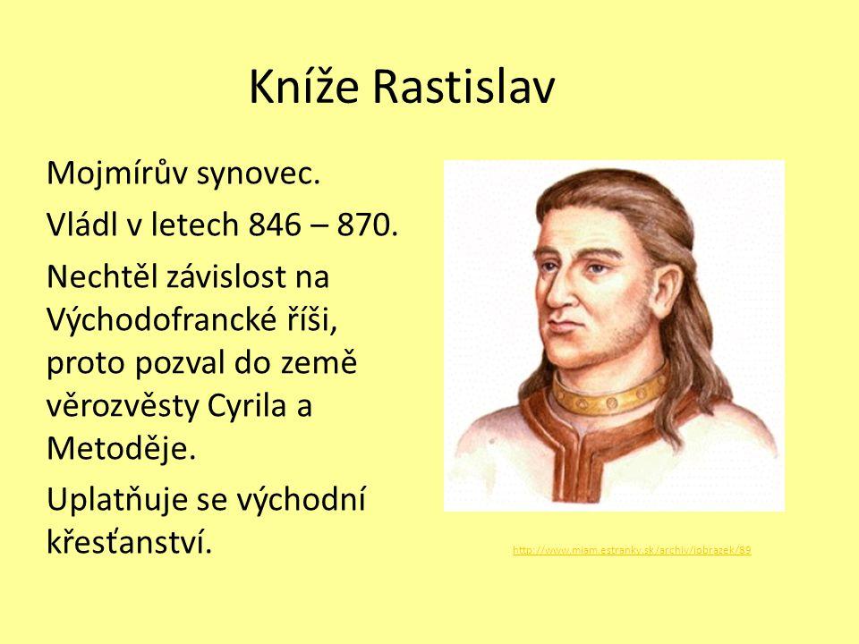 Kníže Rastislav
