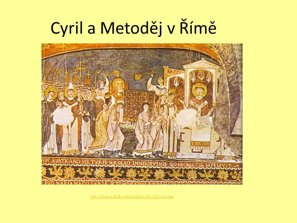 Cyril a Metoděj v Římě http://ecavrk.sk/kronika2009/cl-101-200/131.jpg