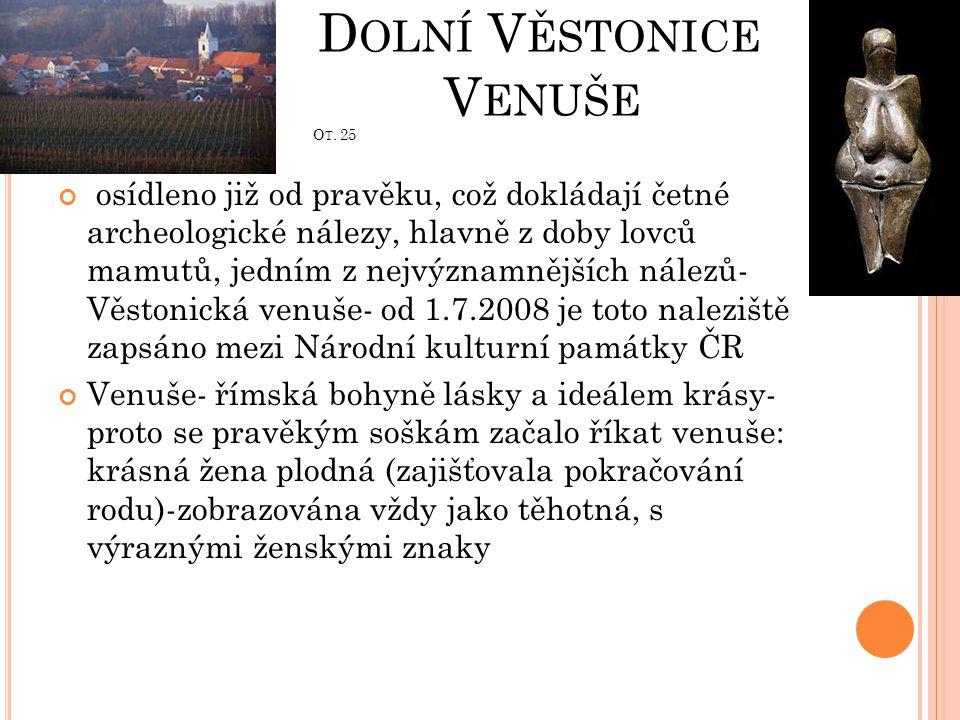 Dolní Věstonice Venuše Ot. 25