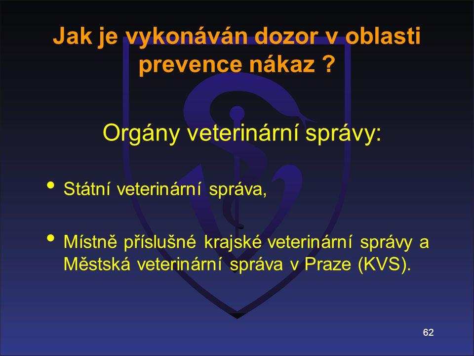 Jak je vykonáván dozor v oblasti prevence nákaz