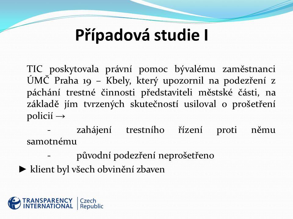 Případová studie I