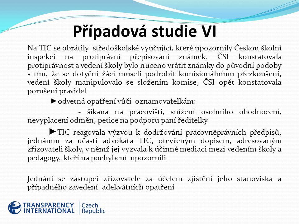 Případová studie VI