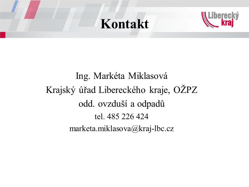 Krajský úřad Libereckého kraje, OŽPZ