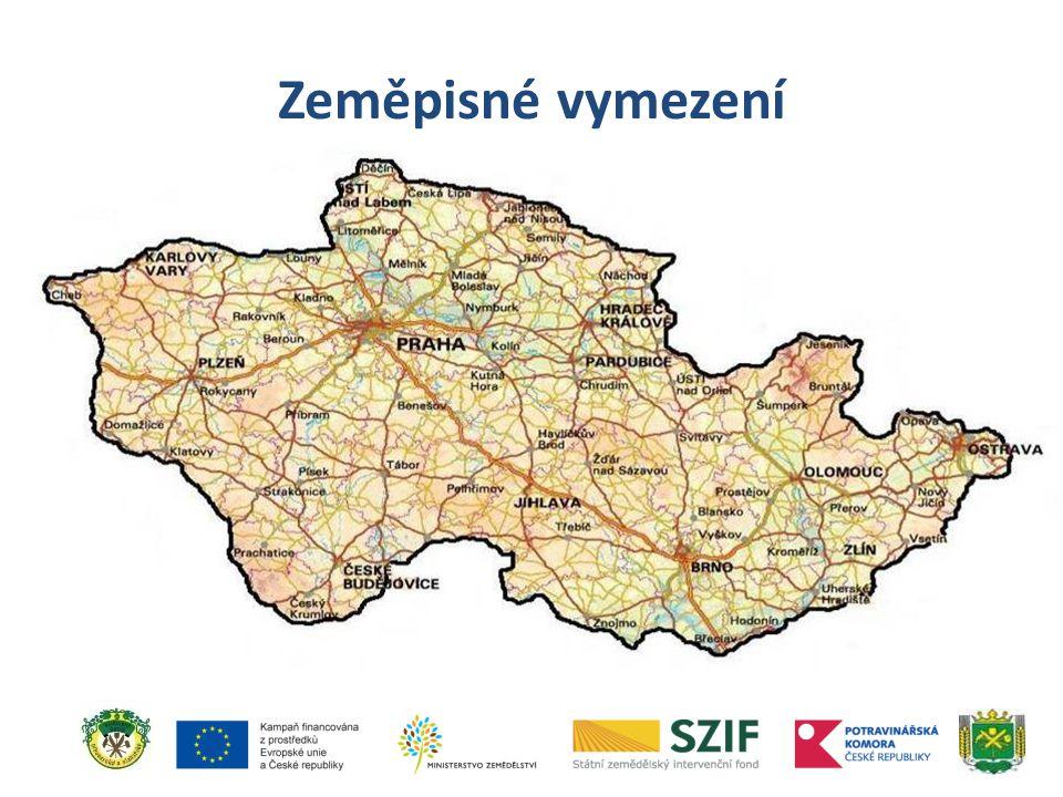 Zeměpisné vymezení