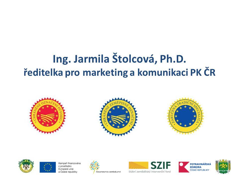Ing. Jarmila Štolcová, Ph. D
