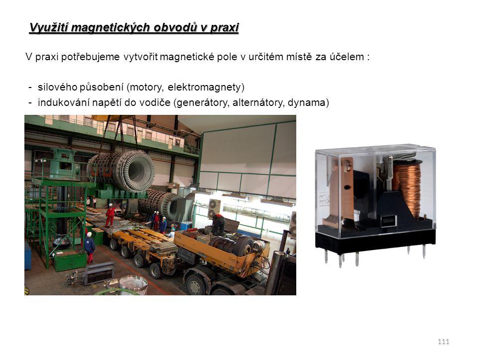 Využití magnetických obvodů v praxi