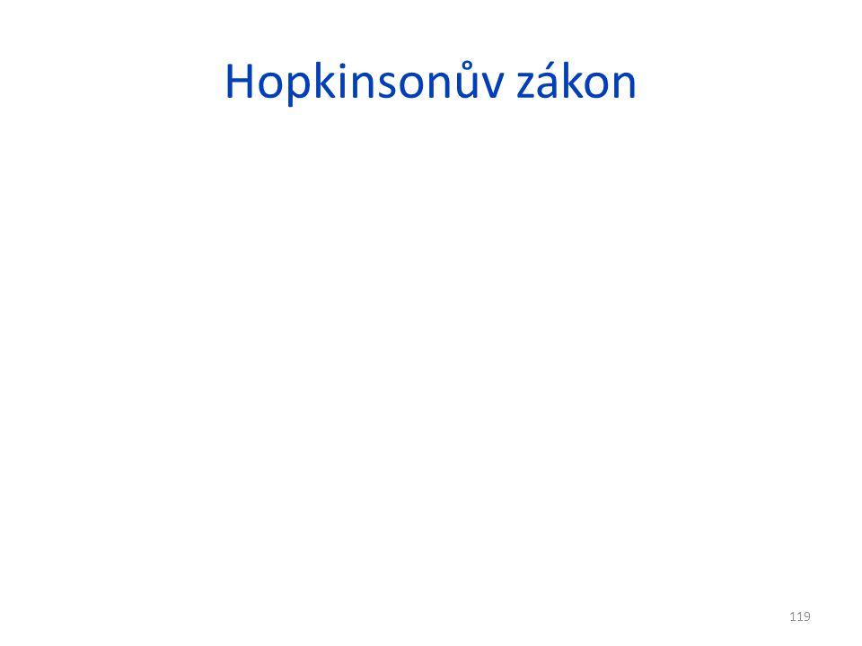 Hopkinsonův zákon
