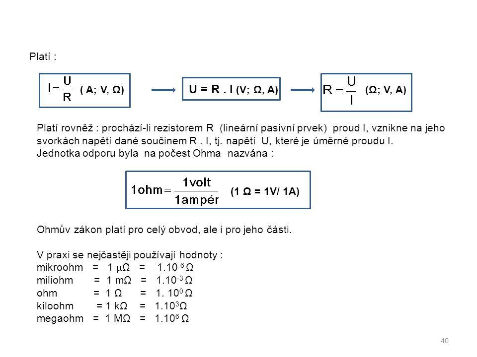 ( A; V, Ω) U = R . I (V; Ω, A) (Ω; V, A)
