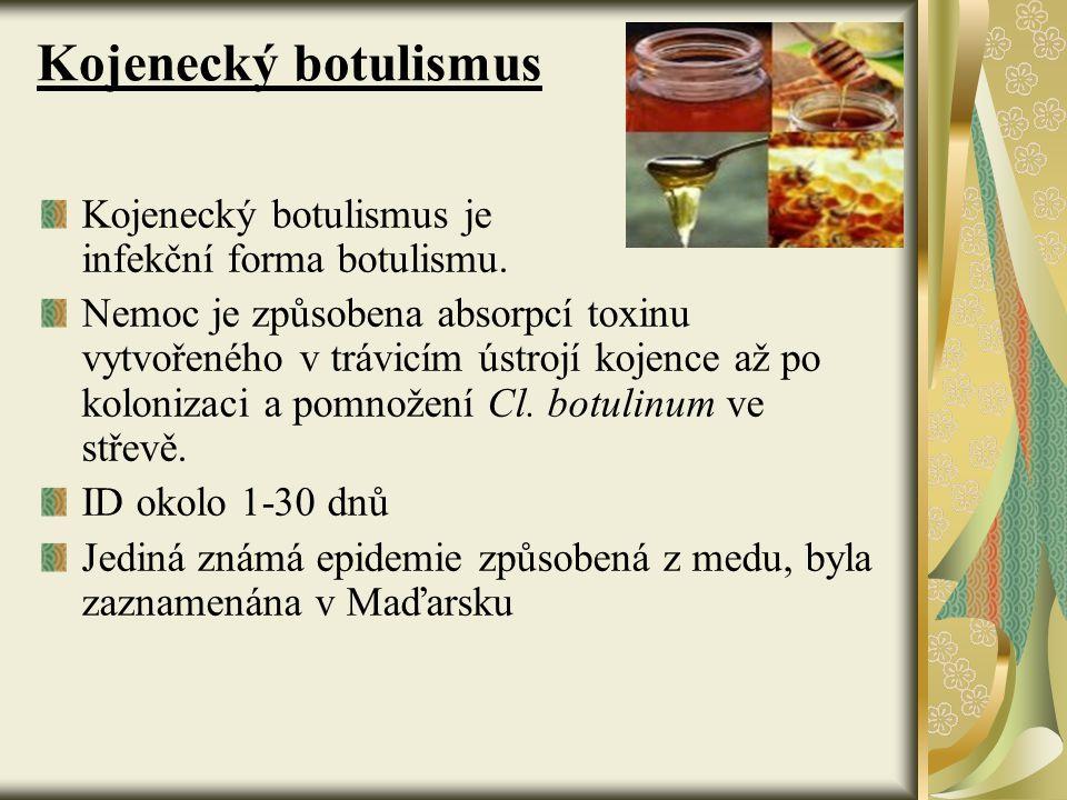 Kojenecký botulismus Kojenecký botulismus je infekční forma botulismu.