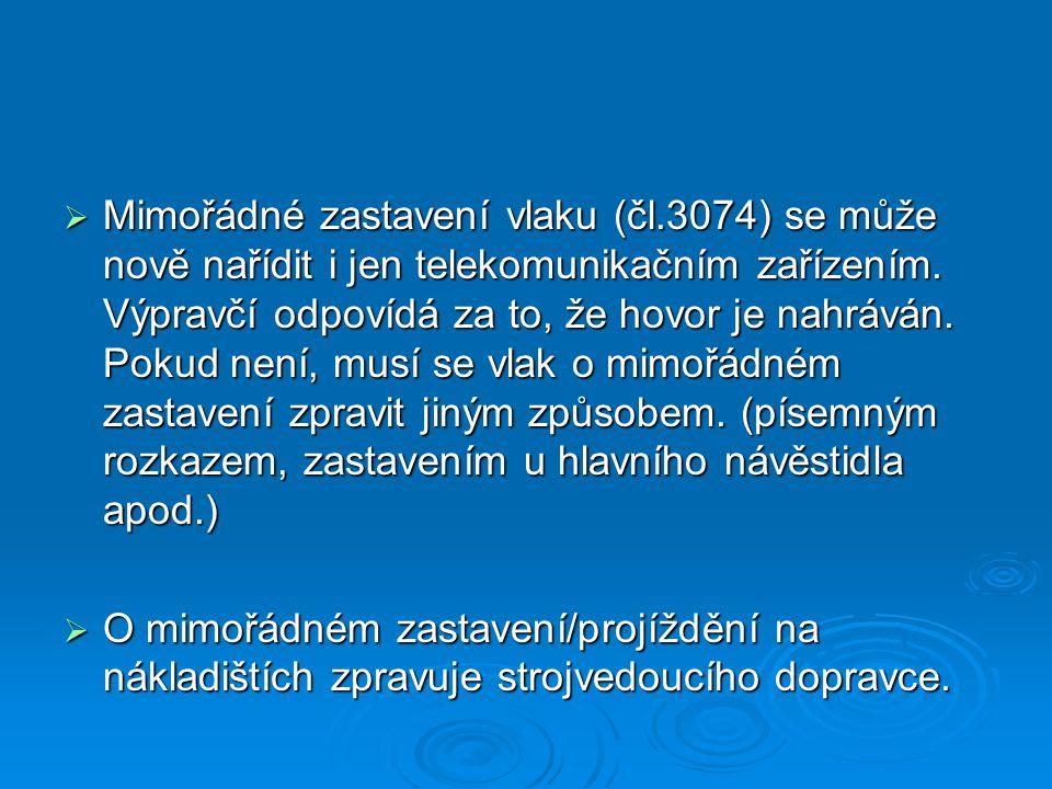 Mimořádné zastavení vlaku (čl