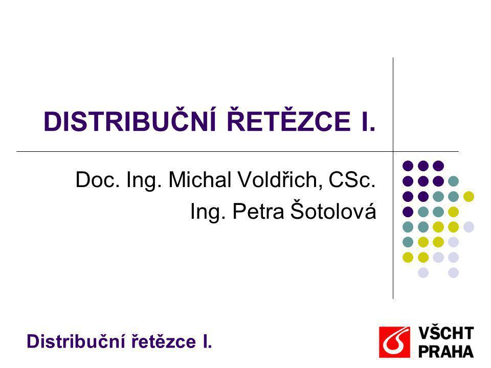 Doc. Ing. Michal Voldřich, CSc. Ing. Petra Šotolová