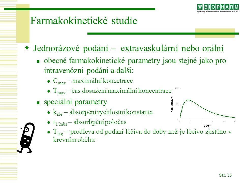 Farmakokinetické studie