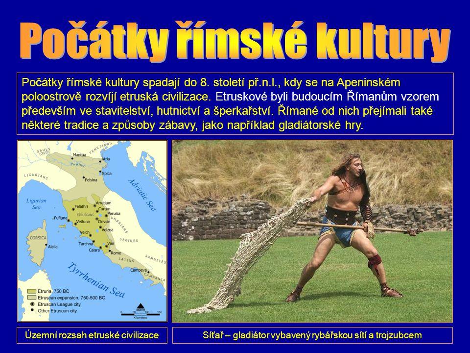 Počátky římské kultury