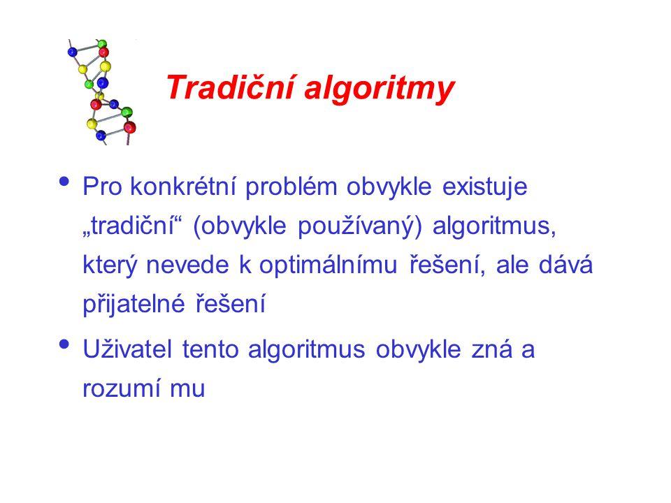 Tradiční algoritmy