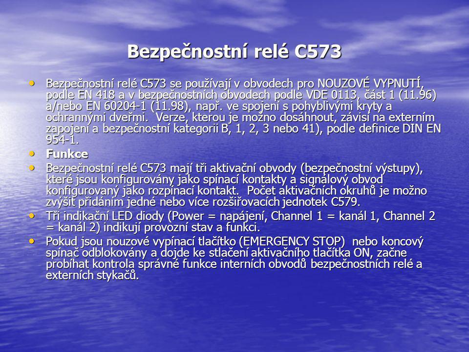 Bezpečnostní relé C573