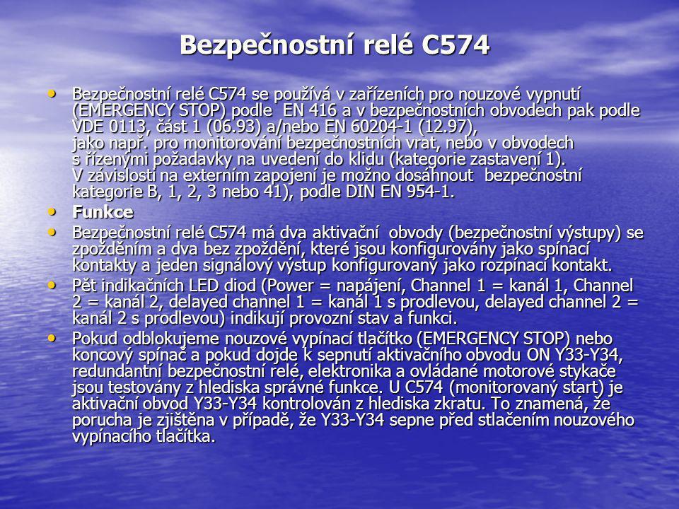 Bezpečnostní relé C574