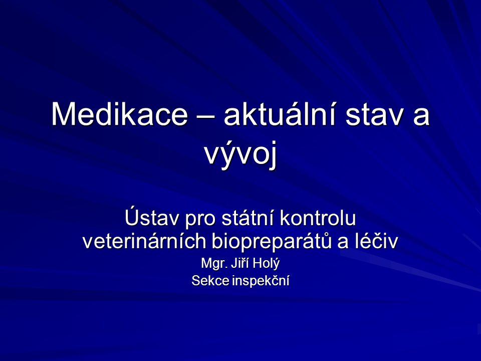 Medikace – aktuální stav a vývoj