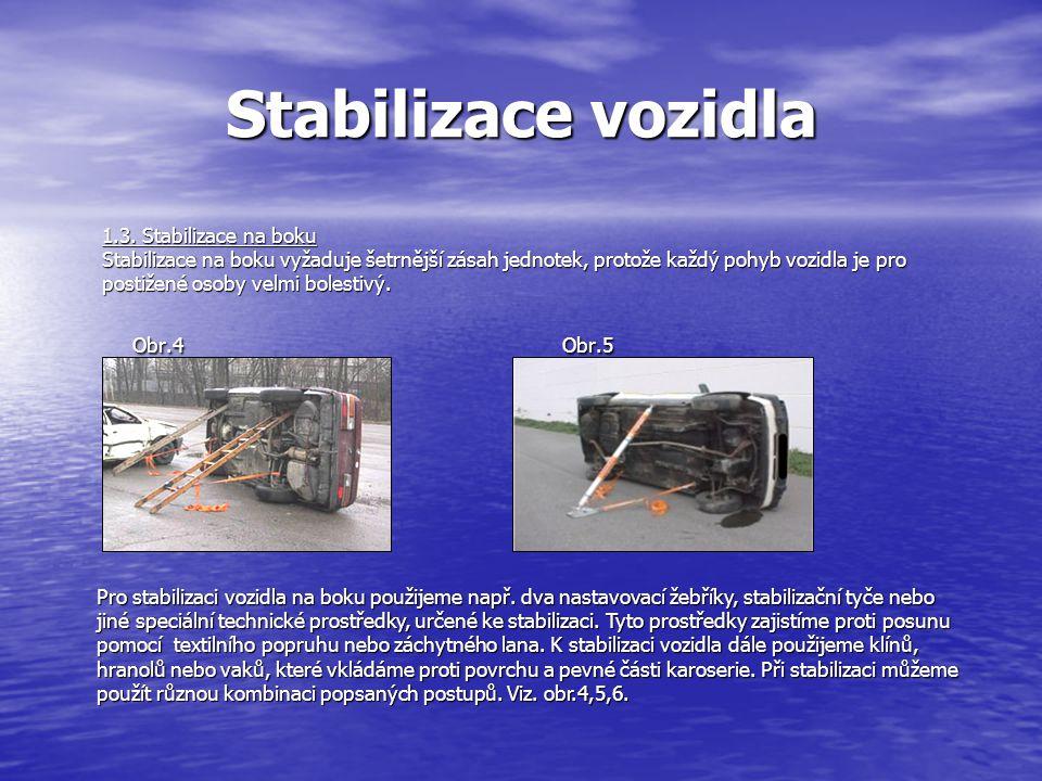 Stabilizace vozidla