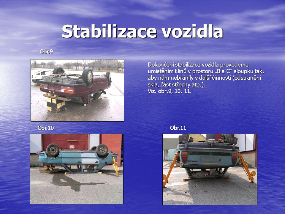 Stabilizace vozidla Obr.9