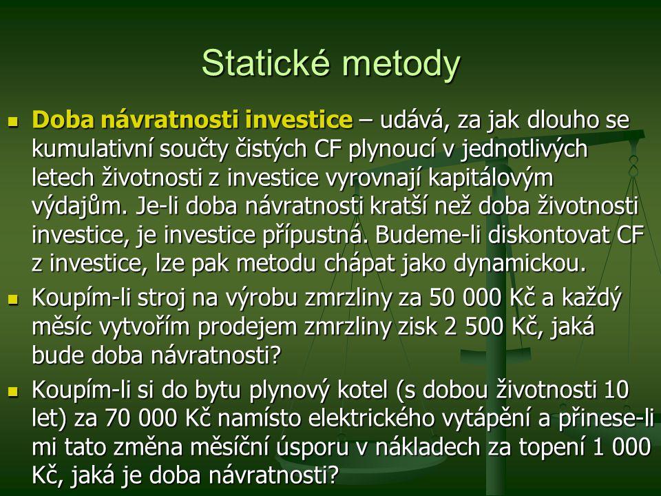 Statické metody